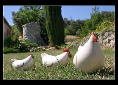 Ceramic - The chick - LES CERAMIQUES DE LUSSAN