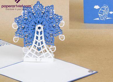 Gift - Ferris Wheels  - PAPER ART VIET