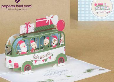 Gift - Christmas car  - PAPER ART VIET