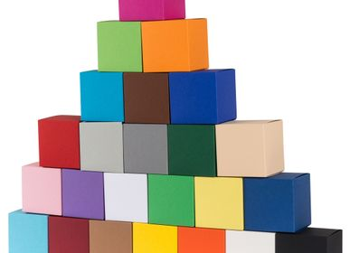 Stationery store - Buntbox Colour Cubes - BUNTBOX