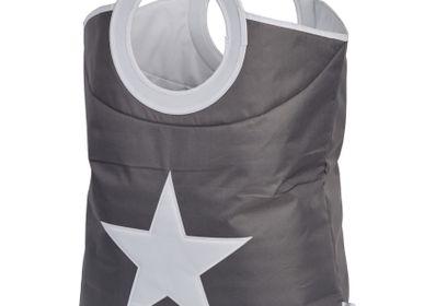 Chambres d'enfants - Sac à linge avec étoile cousue - STORE IT  GMBH