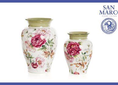 Ceramic - Lg. Vase  / Sm. Vase Venice - CERAMICHE SAN MARCO SRL