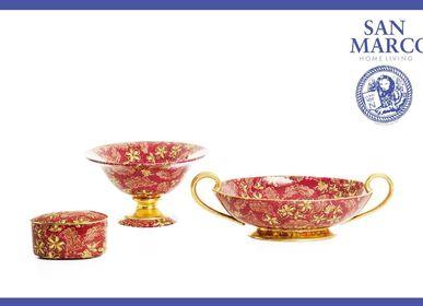 Ceramic - Oval box - Centertable - Centertable - CERAMICHE SAN MARCO SRL