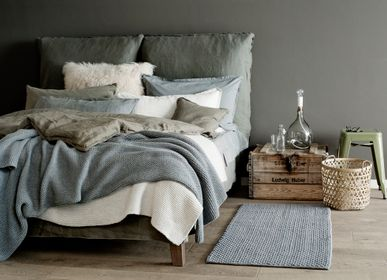 Bed linens - WASHED COTTON - SUNDAY IN BED