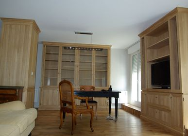 Bookshelves - Solid Oak Bookcases - ATELIER HERSAN