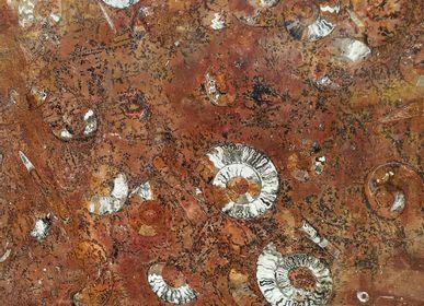 """Tables basses -  Plateau Collection """"Océan Cosmique"""" - PALEOLAND'ART - L'ART DU TEMPS"""