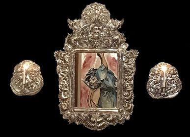 Unique pieces - Miroir replique colonial - NATIVO ARGENTINO