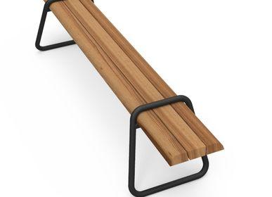 Système de terrasse - Clip-board bench 220 - LONC