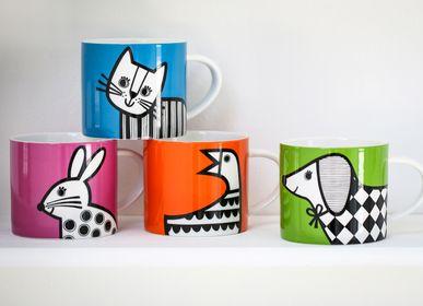 Accessoires thé / café - Nouveautés Jane Foster: mugs, sets de tables et dessous de verres. - MAKE INTERNATIONAL