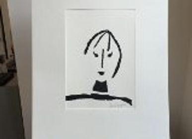 Sculptures, statuettes et miniatures - personnage  - ISABELLE BOUTEILLET COBALT
