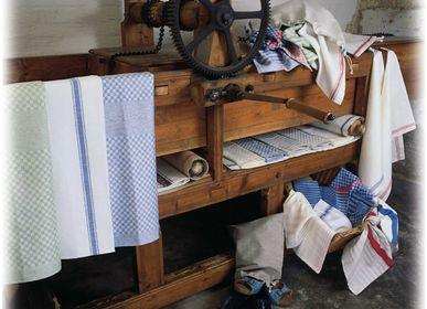 """Bath towels - Linen made from  """"Oberlausitzer Leinen"""" - HOFFMANN LEINENWEBEREI SEIT 1905"""