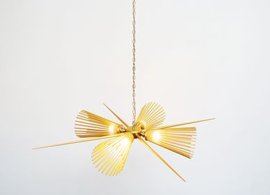Pendant lamps - Carina Chandelier - CHARLES LETHABY LIGHTING