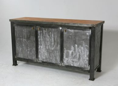 Sideboards - Crocodile Buffet - GRISINGER & INITIATIVES