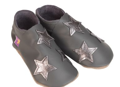 Slippers / shoes - Stars grey metal - STARCHILD