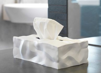 Design objects - Wipy rectangular tissue box - ESSEY