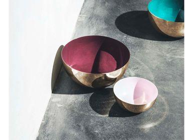 Decorative objects - Metal Bowl with enamel - LOUISE ROE COPENHAGEN