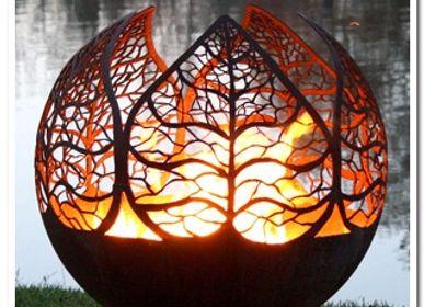 Sculpture - Autumn Sunset - BRASEROS DESIGN