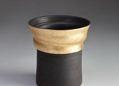 Vases - Gilded Flare Vase - JO DAVIES