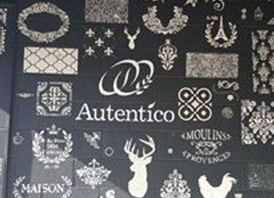Quincaillerie d'art - Pochoirs Autentico - AUTENTICO PAINT