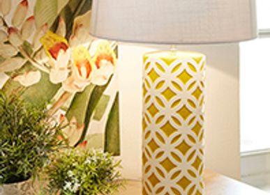 Table lamps - CYLINDRICAL CERAMIC LAMP - SEMA
