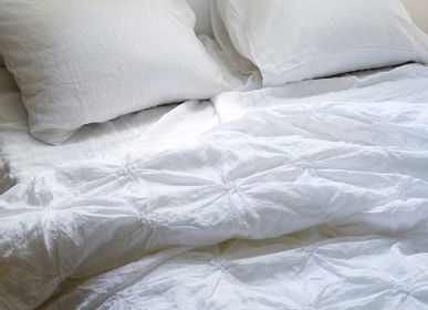 Bed linens - Sara duvet cover  - PASSION FOR LINEN
