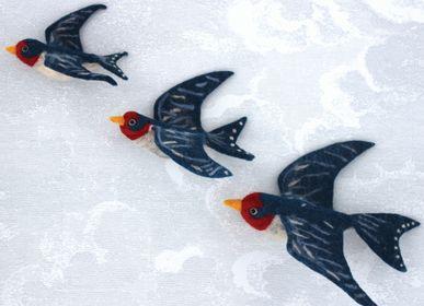Décoration murale - Flying Swallow Wall Trio - SEW HEART FELT