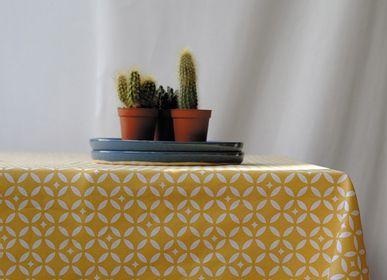 Linge de table textile - Nappes enduites - FLEUR DE SOLEIL