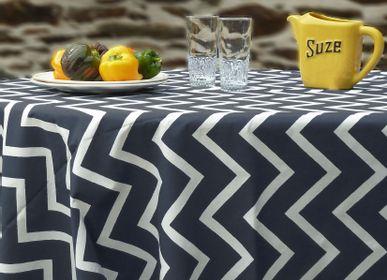 Linge de table textile - Nappe ronde et ovale - FLEUR DE SOLEIL