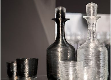 Design objects - Groove clear carafe with lid - HERING BERLIN