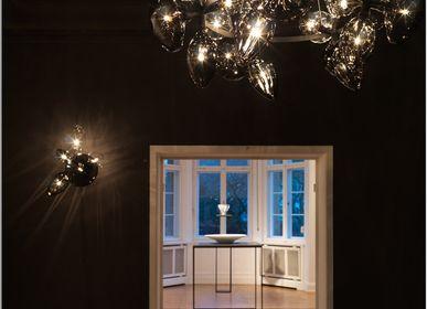 Decorative objects - Ray Dance Crystalglass chandelier - HERING BERLIN