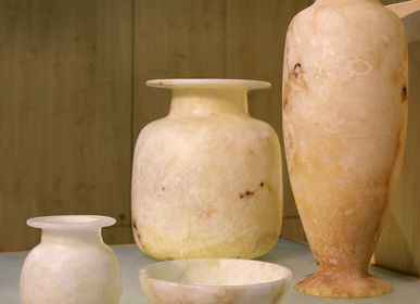 Platter, bowls - Alabaster and Marmar. - CREATIV EGYPT