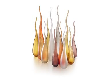 Art glass - Aria Decorative Object - SALVIATI