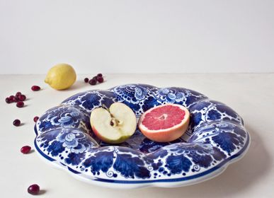 Gifts - Fluted plate - ROYAL DELFT
