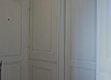 Wall decoration - Trompe-l'oeil Wood - ATELIER  ATHENAIS DECORS PEINTS