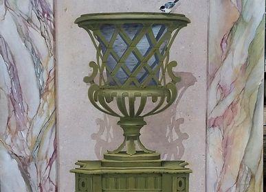 Wall decoration - Trompe-l'oeil Medici Vase - ATELIER  ATHENAIS DECORS PEINTS