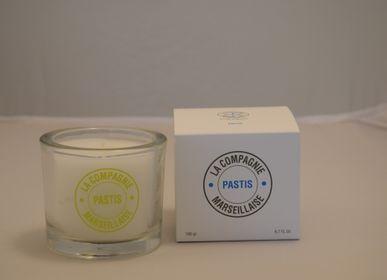 Candles - Bougie PASTIS - LA COMPAGNIE MARSEILLAISE
