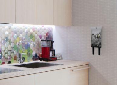 Kitchen Furniture - Modern design fire blankets. - NOXE