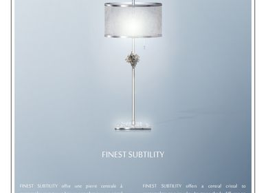 Lampes de table - lampe à poser Finest Subtility - ADN CRÉATION LUMINAIRES D'EXCEPTION