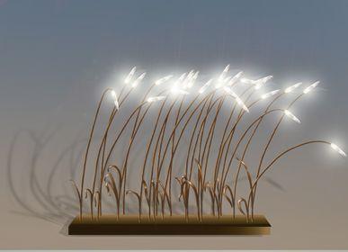 Lampes à poser - lampe à poser WIND - ADN CRÉATION LUMINAIRES D'EXCEPTION