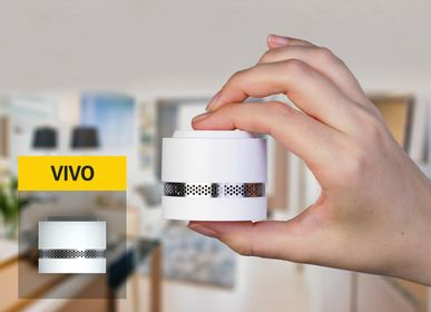 Kitchen Furniture - VIVO the nano smoke alarm with a modern design that holds in the palm of your hand - NOXE