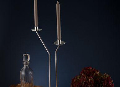 Silverware - silver candlestick - SHONA MARSH LTD