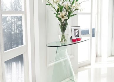 Console tables - GLASS CONSOLE - ROGIERS PAUL