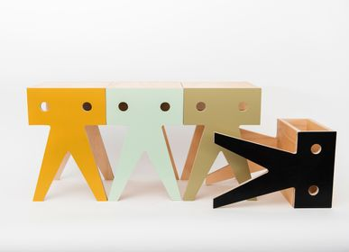Tables and chairs for children - THE BIG WALRUS STOOL - NIMIO