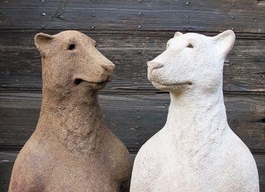 """Sculptures, statuettes et miniatures - """"Ancêtre"""" Ours - CAROLO SCULPTURE"""