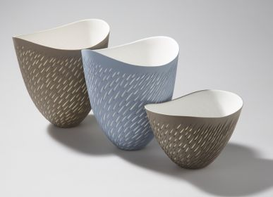 Céramique - Shoal Vases and bowl - SASHA WARDELL