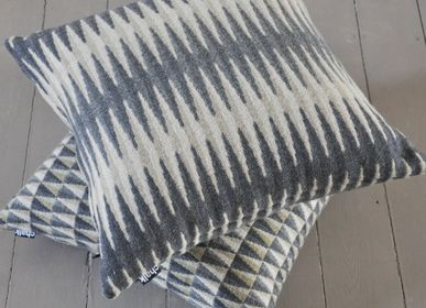 Cushions - Beacon Grey Cushion - CHALK WOVENS (UK) LTD