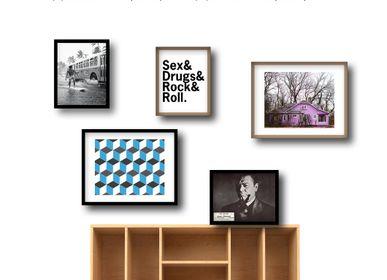Wall decoration - SUR LES MURS framed pictures - CASA ALBERT