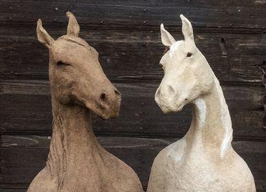 """Sculptures, statuettes et miniatures - """"Ancêtre"""" Cheval - CAROLO SCULPTURE"""