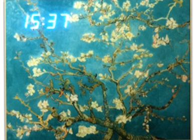 Décoration murale - LED Clock - RP KOREA (HANKUK ART CHAIN CO., LTD.)