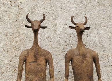 Sculptures, statuettes et miniatures - Gardien - CAROLO SCULPTURE